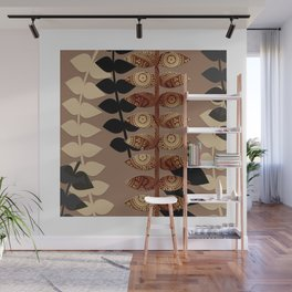 Patterned Vines Wall Mural
