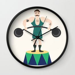 Strongman Wall Clock