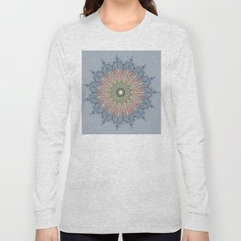 swirl mandala Long Sleeve T-shirt