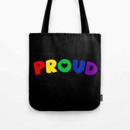Proud (Homosexual) Tote Bag