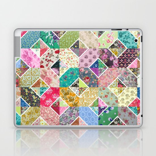 Betty's Diamond Quilt Laptop & iPad Skin