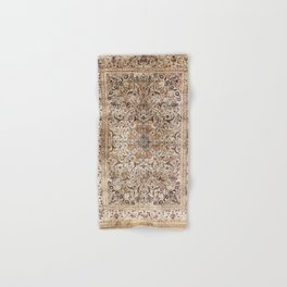 Silk Esfahan Persian Carpet Print Hand & Bath Towel