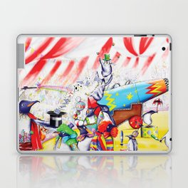 Circus Penguins Laptop & iPad Skin