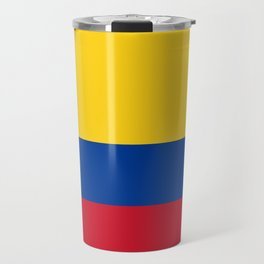Colombian Flag - Flag of Colombia Travel Mug