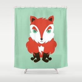 Fox cub Shower Curtain