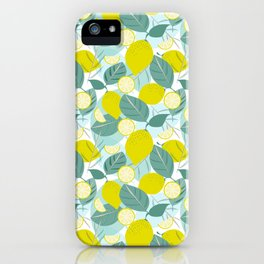 Lemons and Slices iPhone Case