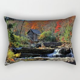 Autumn Oils Rectangular Pillow
