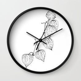 Chinese Lantern Wall Clock