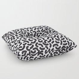 black worms Floor Pillow