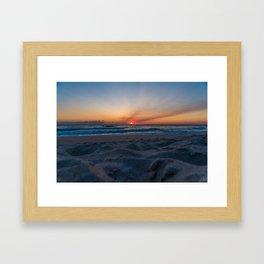 Cape Canaveral Sunrise Framed Art Print