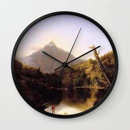 Thomas Cole - Mount Chocorua, New Hampshire Wall Clock
