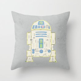 R2Detour Throw Pillow