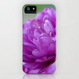 Lavender Tulip iPhone Case