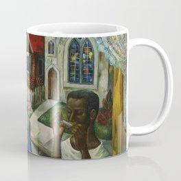 African American Masterpiece 'July 8th' by Fred Jones Coffee Mug