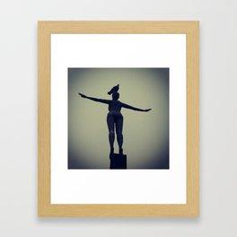 The Belle Framed Art Print