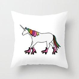 Sport unicorn Throw Pillow