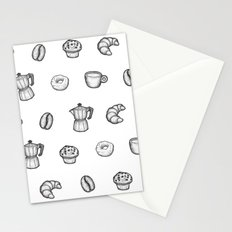 for the love of coffee Stationery Cards