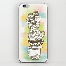 Stack O' Mugs iPhone & iPod Skin
