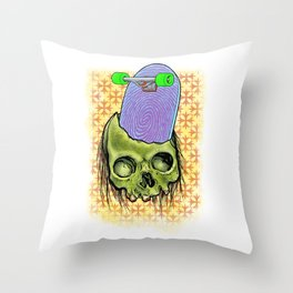 Skate or die! Throw Pillow