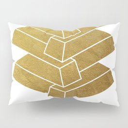 Illusory (white) Pillow Sham