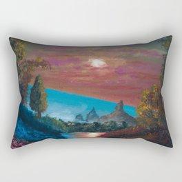 The Last Twilight Rectangular Pillow