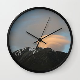 gust on the clouds Wall Clock