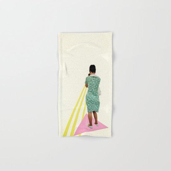 The Photographer Hand & Bath Towel