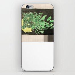 Uil met maanlicht iPhone Skin