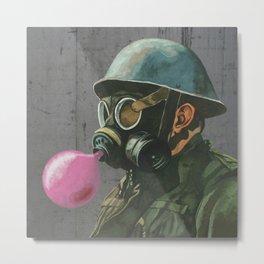 Birthday soldier Metal Print
