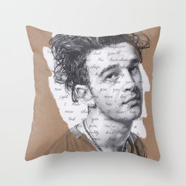 1975 Robbers Throw Pillow