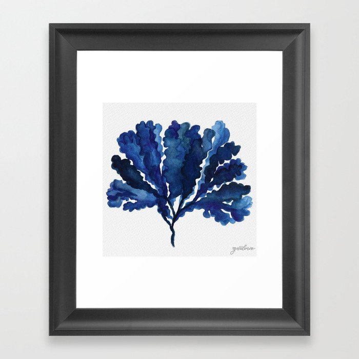Sea life collection part III Framed Art Print