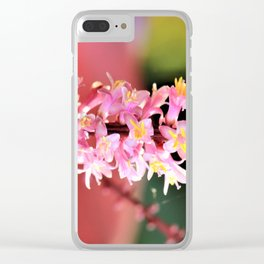 HOPE in PINK by Reay of Light Clear iPhone Case