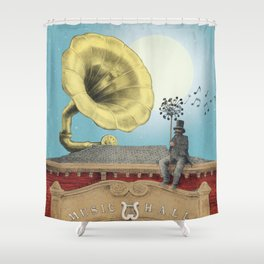 The Music Hall Shower Curtain