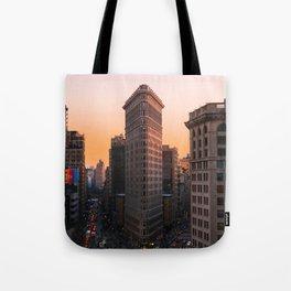 Flatiron Sun Tote Bag