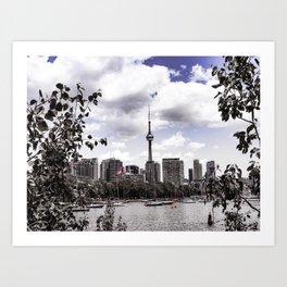 CN View Art Print