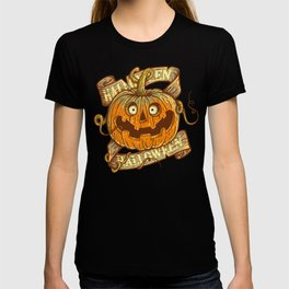 Halloween orange T-shirt
