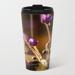 Hepaticas in The Glare Of The Sun #decor #society6 Travel Mug
