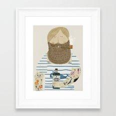 a fine rum Framed Art Print