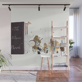 the music book Wall Mural