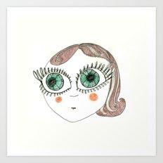I am Delfina! Art Print