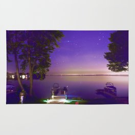 Lake Simcoe start nights Rug