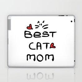 Best cat mom Laptop & iPad Skin