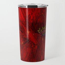 Poppy Passion Travel Mug