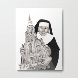 Heart of the Church Metal Print