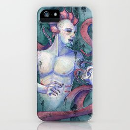 Keeper Of The Abyss iPhone Case
