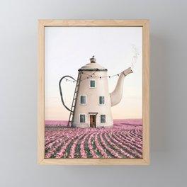 Teapot House Framed Mini Art Print