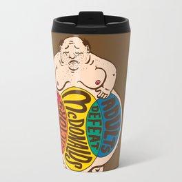 McDonalds. Victory. Defeat.  Travel Mug