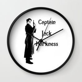 Captain Jack Harkness - Torchwood Wall Clock