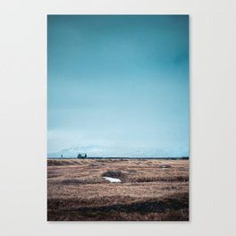 Lonely Little House Canvas Print