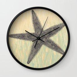 Starfish ~ The Summer Series Wall Clock